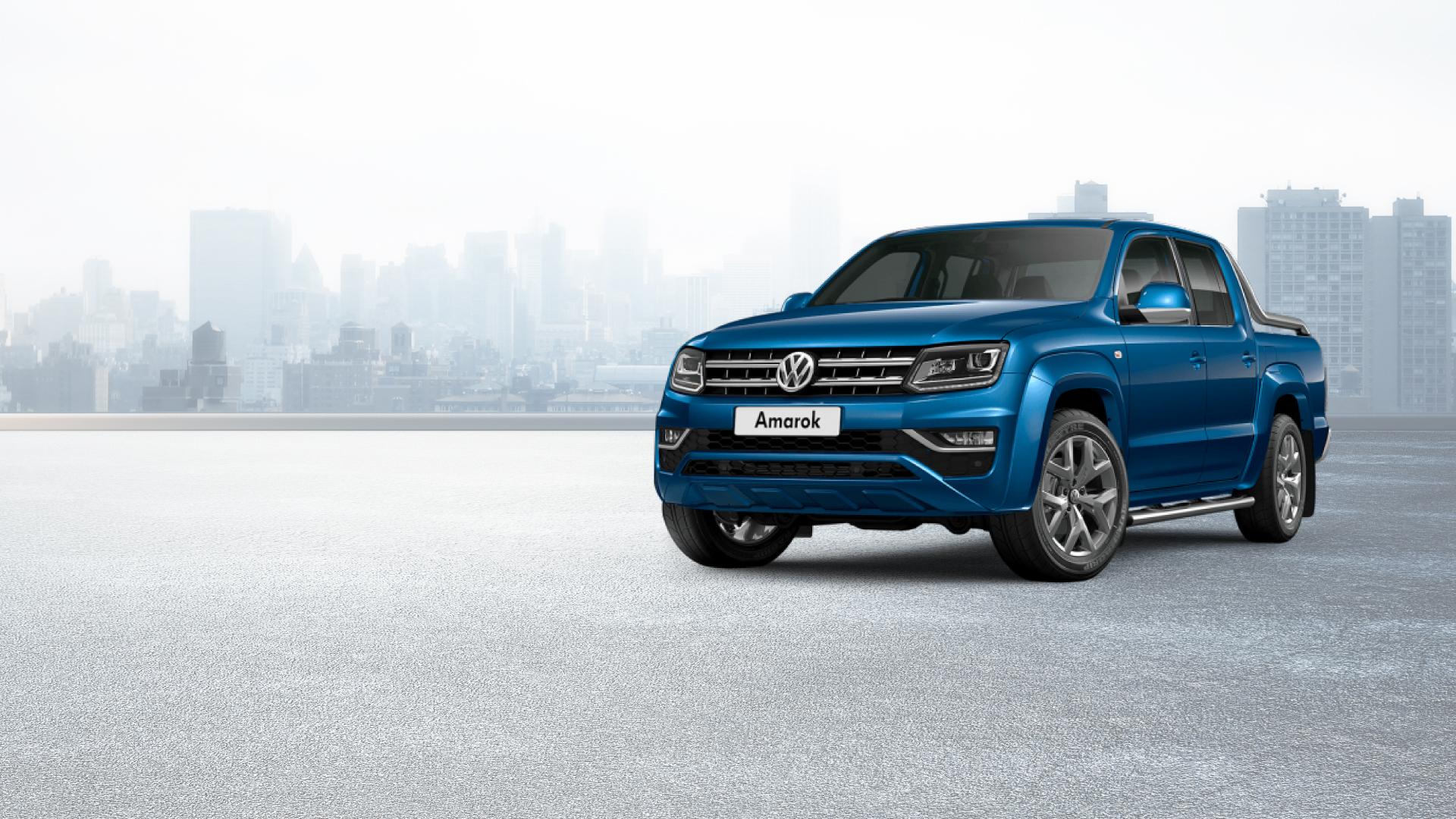 Volkswagen Amarok Azul
