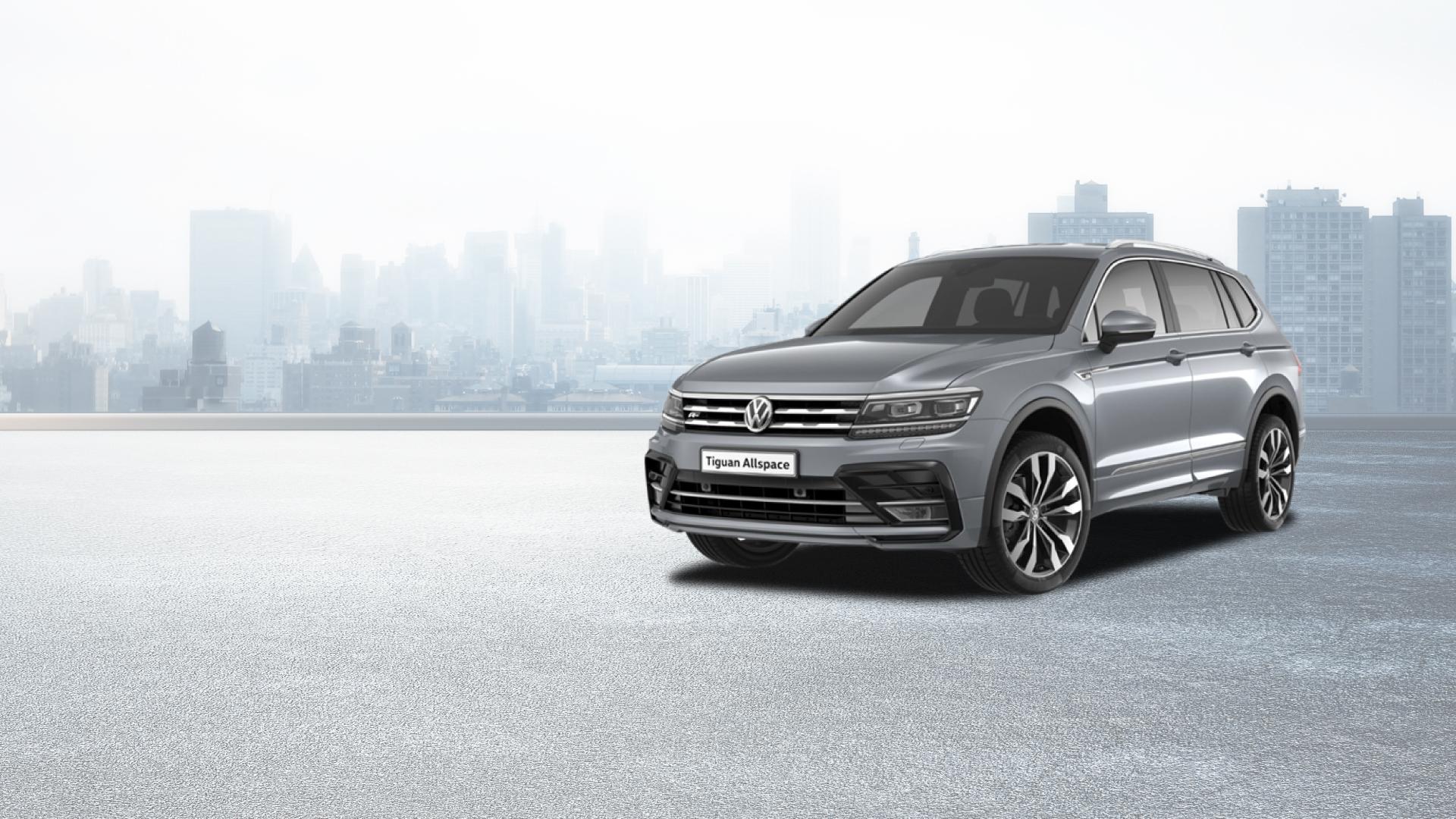 Volkswagen Tigual All Space cinza